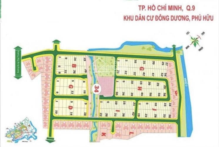 Chính chủ gửi bán các nền đất dự án Cty Đông Dương, Phú Hữu, Bưng Ông Thoàn, Q9
