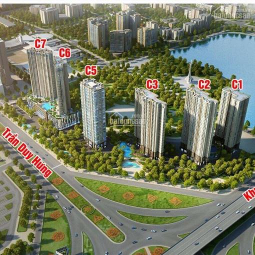 Bán cắt lỗ căn C2, diện tích 51m2, đông nam, giá 2,2 tỷ full nội thất, view hồ ảnh 0