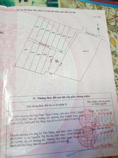 Tôi chính chủ cần bán gấp đất Hòa Phong, Hòa Vang. DT 160m2, giá 670 triệu ảnh 0