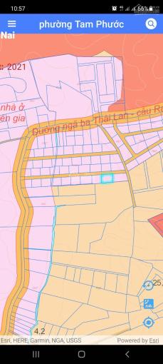 Bán gấp lô đất Tam Phước, ngay ngã 3 Thái Lan - sổ đỏ sẵn - chỉ 5,5tr/m2 - bao phí công chứng ảnh 0