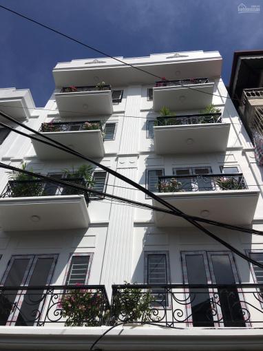 Bán nhà mặt phố Hoàng Mai 50m2 x 6 tầng nhà có thang máy, kinh doanh các kiểu, sổ đỏ, giá 10,7 tỷ ảnh 0