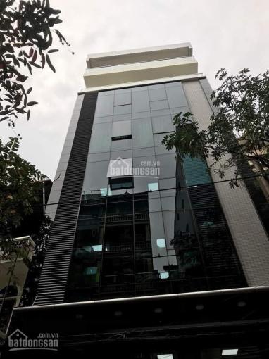 Cho thuê nhà có thang máy tại khu phân lô phố Trung Kính, 80m2 * 6 tầng, MT 6m, nhà đẹp. Giá 38 tr ảnh 0