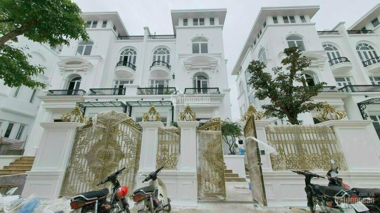 Biệt thự Louis City Hoàng Mai mặt tiền 12m, hầm riêng, cạnh hồ Yên Sở giá tốt nhất TT, 0965572566 ảnh 0
