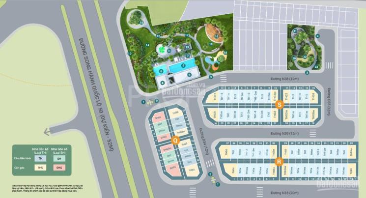 Nhà phố MT Lovera Premier Khang Điền Bình Chánh, 5mx15m, 1trệt 3lầu ST, 4PN 6WC ảnh 0