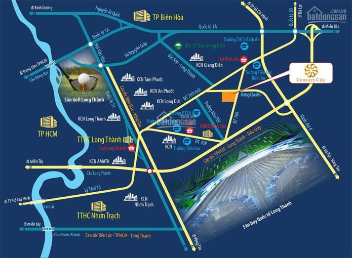 Bán đất Sân Bay Long Thành, giá chỉ 18 triệu/1m2 ảnh 0