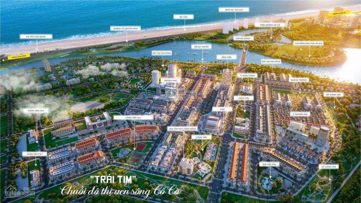 Bán đất dự án mới nhất 2021 - khu đô thị đối diện siêu Thiên Đường Cổ Cò, thanh toán trong 18 tháng ảnh 0
