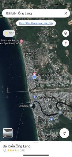 Tôi kẹt tiền cần bán nhanh mảnh 500m2 đất thị trấn Dương Đông, Phú Quốc 0981.30.11.93 ảnh 0