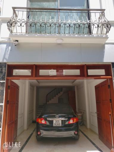 Bán nhà ngõ 2 cầu Bươu, Thanh Trì ô tô vào nhà, kinh doanh DT 40m2 xây 5 tầng kiên cố, 0378525205 ảnh 0