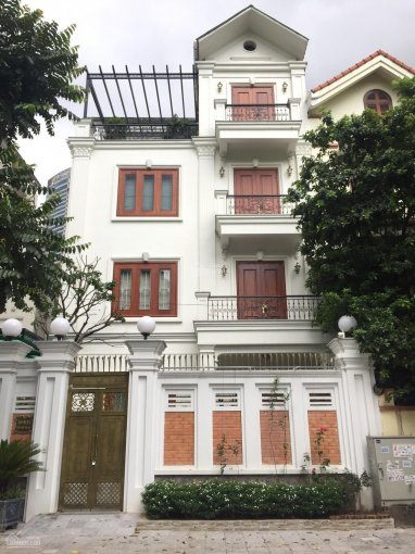 Cho thuê biệt thự Nguyễn Thị Định - Trung Hoà - Cầu Giấy - HN. DT 220m2, 4T, đồ cơ bản, giá 60 tr ảnh 0