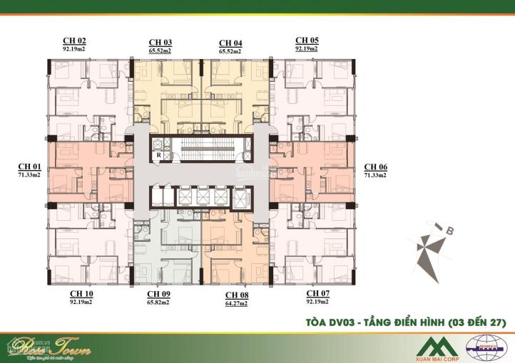 Bán suất ngoại giao căn 3PN 92m2 giá 26tr/m2 dự án Rose Town 79 Ngọc Hồi, LH 0978079652 ảnh 0
