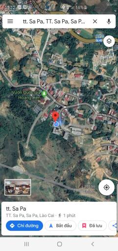 Bán mảnh đất đường Nguyễn Chí Thanh Sapa, giá đầu tư vô cùng đẹp ảnh 0