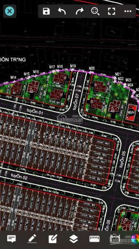 Bán đất sổ đỏ chính chủ tại mặt bằng 2513 thị trấn Rừng Thông, Đông Sơn, Thanh Hóa ảnh 0