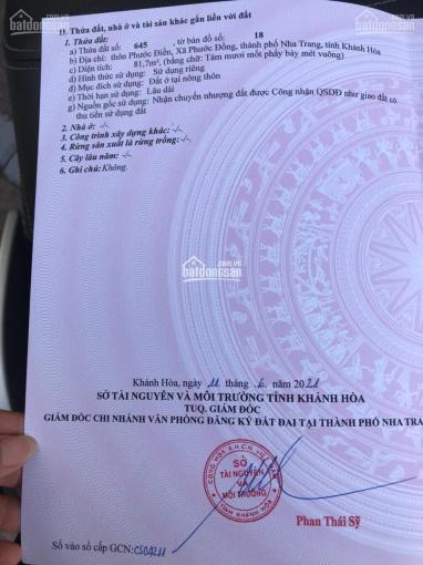Bán nhà Phước Đồng giá rẻ, thổ cư, sổ riêng ảnh 0