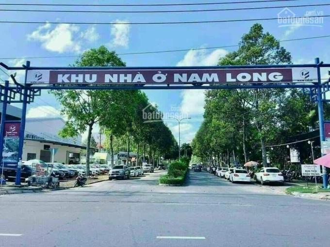 Nền biệt thự KDC Nam Long đường 3A - có rạch Xẻo Khế sau nền ảnh 0