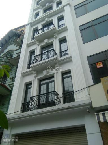 Cho thuê nhà MP Trương Công Giai DT 80m2 * 8T, thông sàn, có thang máy, PCCC, tiện KD. Giá 75tr/th ảnh 0