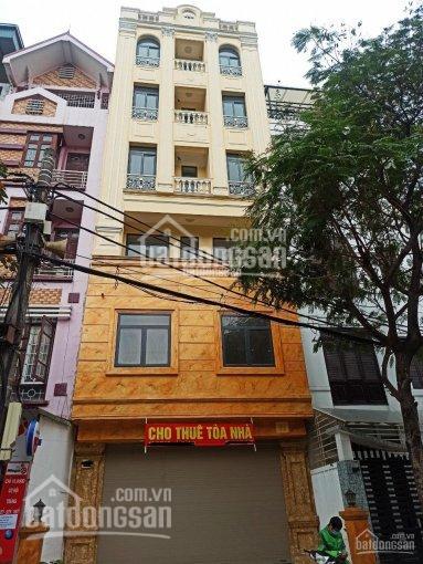 Cho thuê nhà đẹp nhất phố Nguyễn Khánh Toàn, Cầu Giấy. DT 90m2, 6 tầng thông sàn, mặt tiền 9m ảnh 0