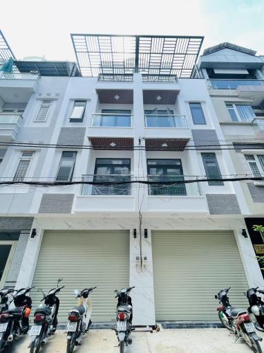 Nhà mặt tiền Tân Phú, 8x16m giá 15,7 tỷ /căn, đúc 1 trệt 4 lầu có thang máy, sổ hồng riêng ảnh 0