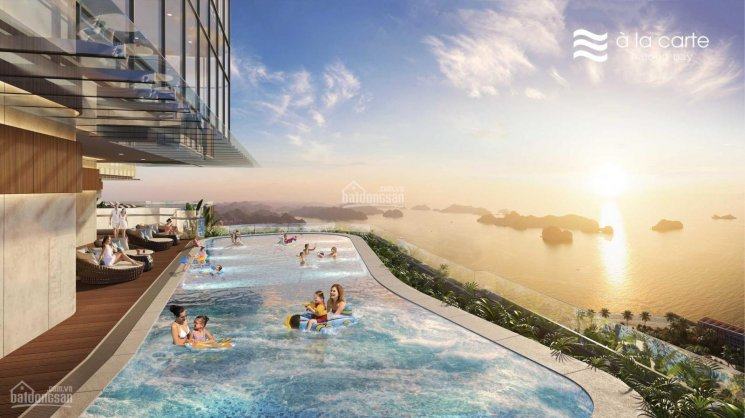 Covid chuyển nhượng căn hộ dịch vụ với 1PN T37 tầng view vịnh HL, sân golf Tuần Châu, Marina Square ảnh 0