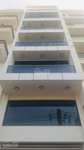 Nhà mặt tiền Lê Quang Định, 5.2x18m, hầm, 7 tầng, thang máy, nhà mới chưa sử dụng. Giá tốt mùa dịch ảnh 0
