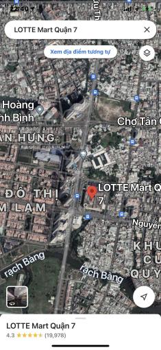 Chính chủ cần bán đất ngã 4 Nguyễn Thị Thập và D1 Q7 gần Lotte Mart lh Vân 0989880877 ảnh 0