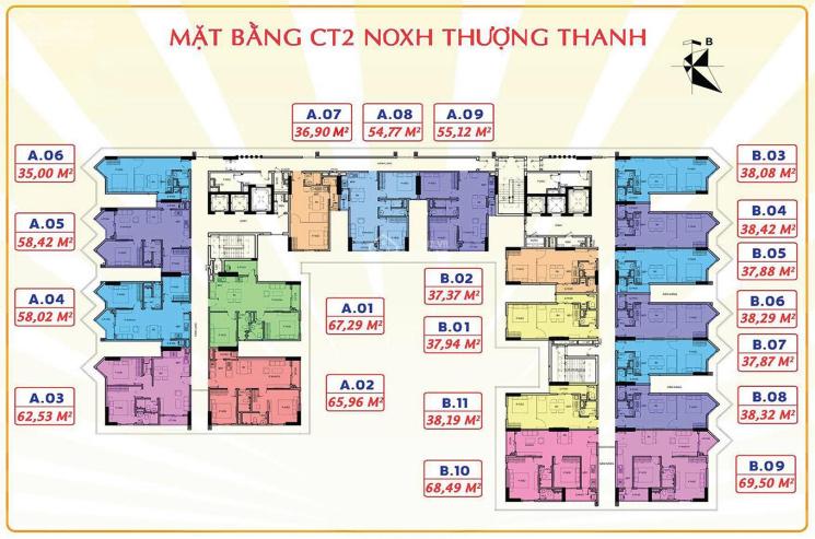 NOXH Him Lam Thượng Thanh, Long Biên, Hà Nội 15 - 17tr/m2 (không nhanh không còn ảnh 0