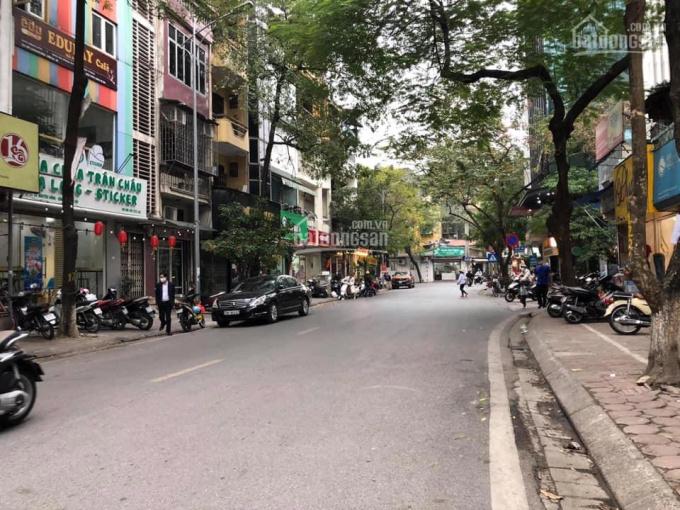 Bán tòa nhà mặt phố Nguyễn Khánh Toàn, 7 tầng 1 hầm, vỉa hè, KD, DT 105m MT 6m6 giá 28.5 tỷ ảnh 0