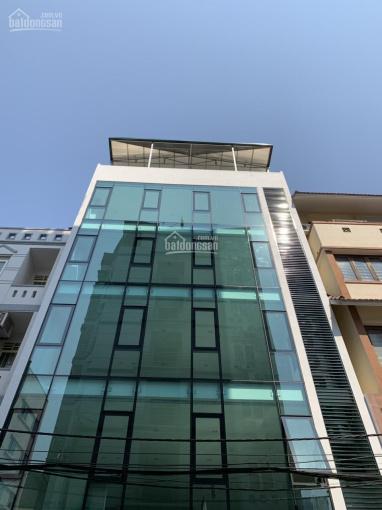 Cho thuê nhà MP Xã Đàn, Đống Đa. 95m2*7 tầng nổi 1 tầng hầm, thông sàn thang máy, giá 155 tr/th ảnh 0