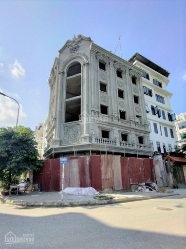 Cho thuê nhà phố Nguyễn Văn Huyên, CG, DT 80m2 x 7T, 1H, MT 12m, thời trang spa ngân hàng, 120tr/th ảnh 0