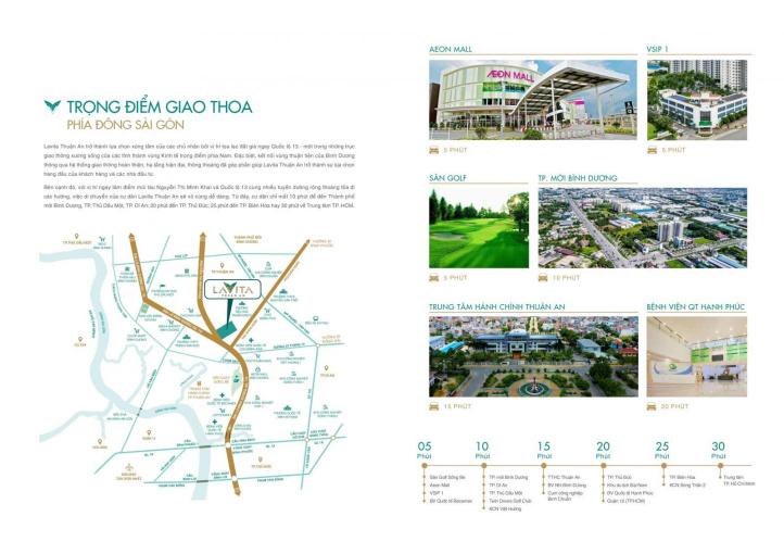 KM cực hấp dẫn T7, CK lên tới 7%, TT 30% nhận nhà khi mua CH Lavita Thuận An giá chỉ từ 1,4 tỷ ảnh 0