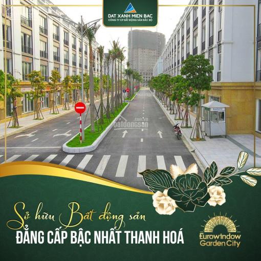 Căn hoa châu 84m2 tiện kinh doanh quán ăn, đối diện công viên tại Eurowindow Thanh Hoá ảnh 0