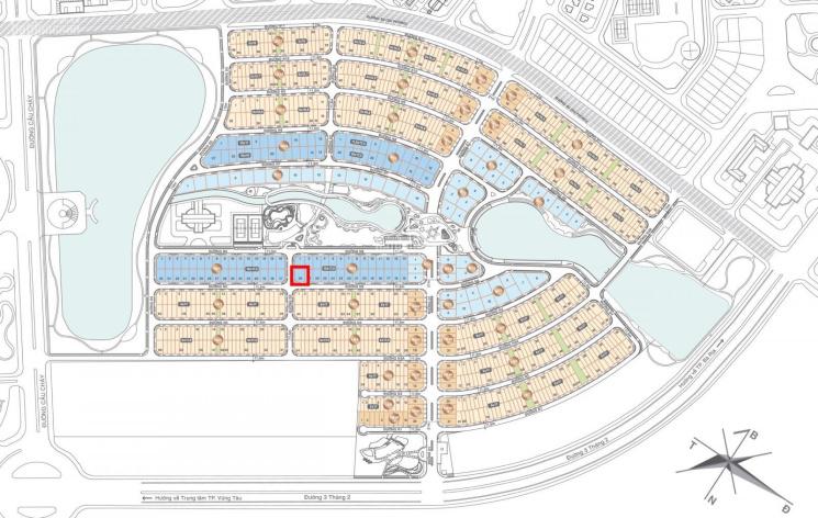 Biệt thự song lập 2 mặt tiền, sân vườn lên đến 5,6m và nằm trong dự án nơi ở của giới thượng lưu 5* ảnh 0