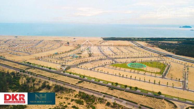 Cần bán lô đất biển Quy Nhơn, hướng Đông Nam, view công viên. LH: 0986289508 ảnh 0