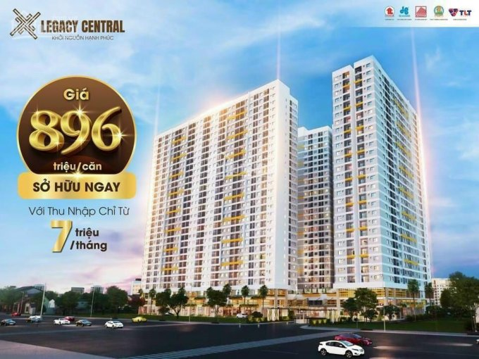 Duy nhất trong tháng 8, thanh toán 30% sở hữu căn hộ cao cấp Legacy Central Thuận An ảnh 0