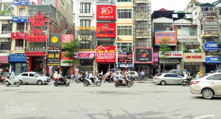 Bán nhà mặt phố Tây Sơn ngay Ngã Tư Sở 50m2, 5 tầng, giá 17 tỷ, đang cho thuê 30tr/tháng ảnh 0