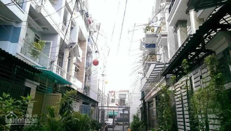 Bán nhà hẻm 6m - 71m2 x 5 tầng - Huỳnh Văn Nghệ, P15, Quận Tân Bình - 6,85 tỷ ảnh 0