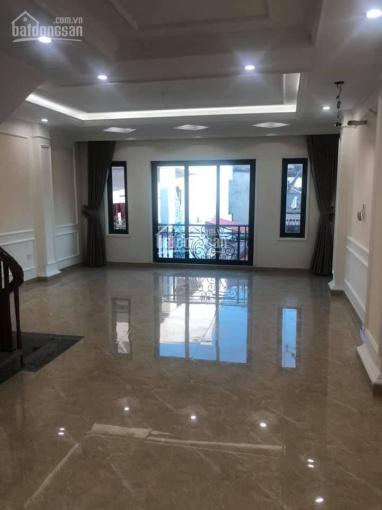Bán nhà mới xây siêu đẹp khu phân lô quân đội K80 đường Bưởi. 52m2 x 6 tầng, thang máy ảnh 0