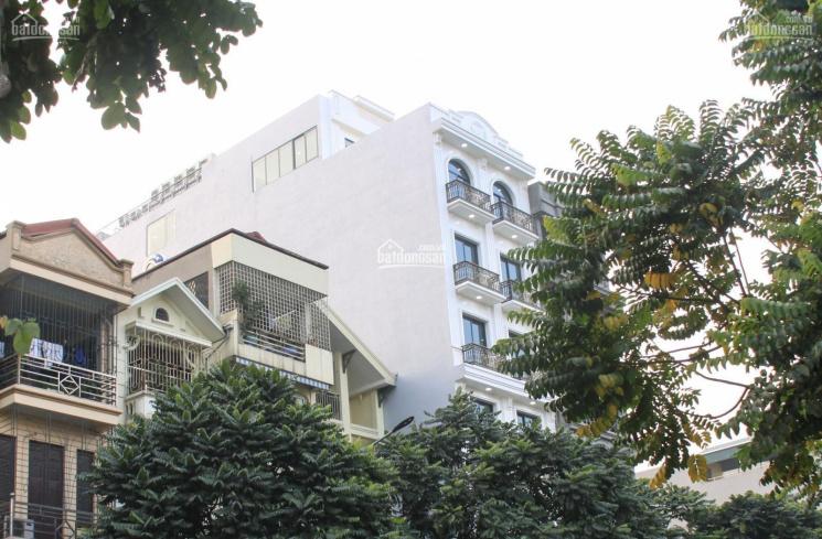 Cần bán nhà MP Hoa Bằng DT 85m2 xây 6 tầng thang máy. MT 4,5m giá 14 - 15 tỷ ảnh 0