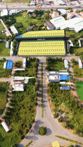 Đất nền giá rẻ vị trí đẹp ngay trun tâm thị trấn Bến Lức đất nền - MT đường Nguyễn Trung Trực ảnh 0