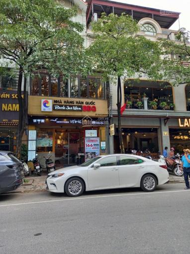 CC cho thuê nhà mặt phố Trung Hòa làm kinh doanh, VP, DT 145m2 x 5 tầng, có thang máy. Giá 75tr ảnh 0