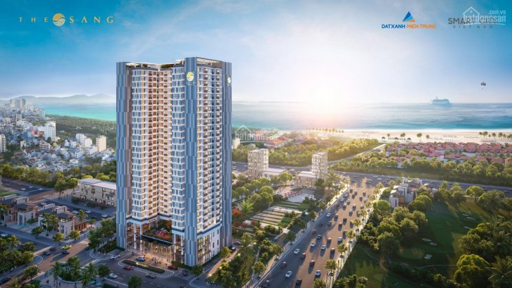 SỐC !! Ra mắt Căn hộ cao cấp nhất Đà Nẵng-The Sang Residence đối diện resort Furama