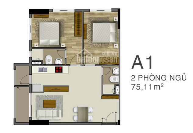 Cần bán căn hộ chung cư 75m2 ngay tuyến Metro 1 TP. Thủ Đức ảnh 0