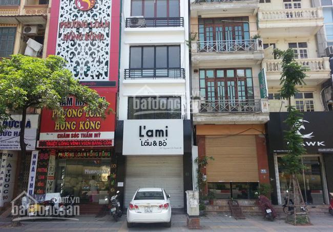 Nhà mặt phố Yên Phụ, Tây Hồ - 50m2 x 5 tầng - kinh doanh sầm uất ảnh 0