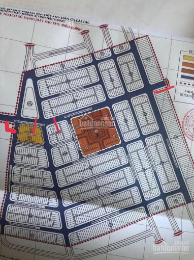 Bán lỗ 3 nền liền kề 5x19.45m đối diện cổng vào chợ Cái Tắc, Châu thành, Hậu Giang ảnh 0