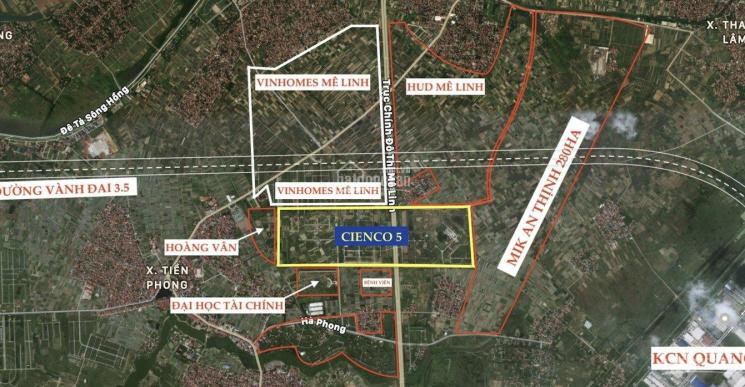 Chính chủ cần bán biệt thự song lập 173,5m2 AIC đã đc Vin mua lại, sát Cienco, Hoàng Vân Mê Linh ảnh 0