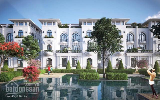 Bán biệt thự có hầm cạnh phố cổ - Louis City Hoàng Mai - cam kết giá rẻ nhất thị trường vào tên HĐ ảnh 0