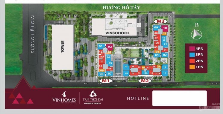 Cần bán căn 4 phòng ngủ tại Vinhomes 29 Liễu Giai giá 12,7 tỷ ảnh 0