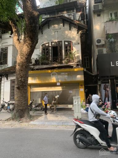 Cho thuê cửa hàng mặt phố Ngô Thì Nhậm: 40m2, gác xép 20m, MT 5.6m, giá 27tr/tháng ảnh 0