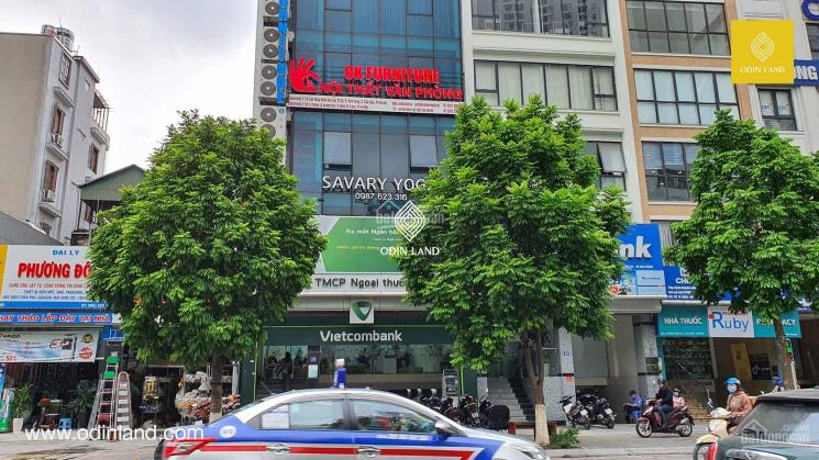 Chính chủ cho thuê văn phòng toà nhà Vietcombank 18 Khúc Thừa Dụ giá siêu ưu đãi ảnh 0