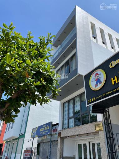 Bán căn nhà 3,5 tầng đẹp đường Nguyễn Tất Thành gần Hà Khê, 125m2 - Đông Bắc ảnh 0