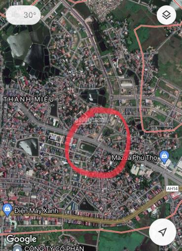 Bán đất mặt đường Nguyễn Tất Thành, phường Thanh Miếu, TP. Việt Trì, T. Phú Thọ ảnh 0